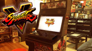 street fighter 5 custom arcade cabinet youtube