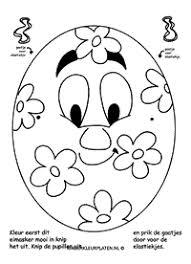 Kleurplaat Leeuw Masker Knippen Spelletjes