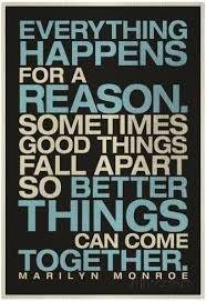 quotes about everything happens for a reason