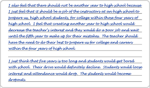 eknowledge acirc cent save money and get the test score you deserve writing sample 3 page 2