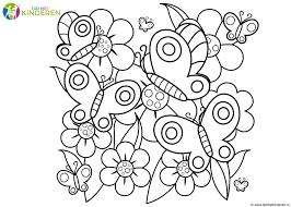 Kleurplaten Herfst Bloemen