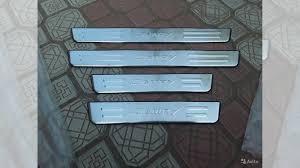 <b>Накладки на дверные пороги</b> Toyota Camry 12 + купить в ...