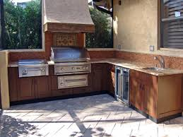 Kitchen  Prefab Outdoor Kitchen In Trendy Prefabricated Outdoor - Outdoor kitchen miami