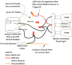 wiring diagram for switched security light new outdoor motion sensor light switch wiring 110 volt light