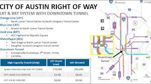 Austin 2000 Light Rail A Subway In Austin City Leaders Explore Massive Transit