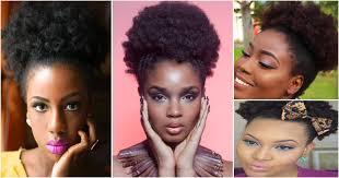Afro Puff Idée De Coiffure Afro Simple Et Rapide