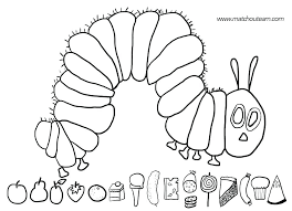 Printable Caterpillar Coloring Pages Coloring Pages For Kids