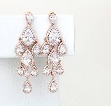 rose gold chandelier earrings eimatco chandelier earrings nordstrom