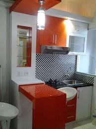 exceptional kitchen set minimalis ruang sempit 3 ide dapur mini dan meja bar nyaman