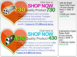 Plotter Paper Sizes Chart News Wide Format Plotter Paper