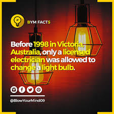 G17 Light Bulb Yes It Was Illegal To Change A Light Bulb Under Victorian