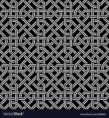 Celtic Pattern Unique Seamless Celtic Pattern Royalty Free Vector Image
