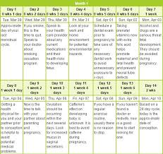 Pregnacy Clander Pregnancy Month Calendar Download And Install At No Cost Calendars