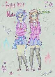 Naho and Sayaka by XxX Cookie chan XxX on DeviantArt