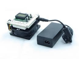 fan heater combo. incukit™ mini for desktop incubators | thermostat, fan \u0026 heater combo