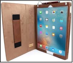 good review Snugg iPad Pro case covers Top leather Cases with Pencil holder: Perfect Covers