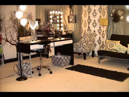 high end black makeup vanity table with lighted mirror for bedroom wonderful ideas of black