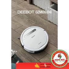 Robot Ecovacs Deebot Ozmo 610 (kèm theo 2 phụ kiện) - HÀNG ĐỨC 69 - Máy hút  bụi & Thiết bị làm sạch sàn