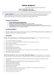resume optimization a r n a b g a n g u l y optimization engineer  experienced mobile email sample resume rf optimization engineer