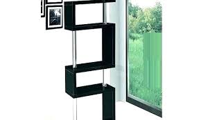 black corner bookshelf full size of black corner shelves bookcase glass shelf unit furniture delectable