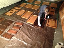 Oak Cabinets Stained Dark Staining Oak Cabinets Darker Paint Colours