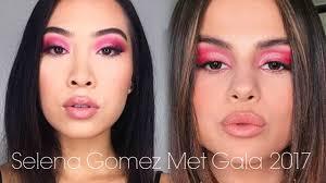 selena gomez met gala 2017 makeup tutorial
