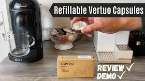 nespresso vertuo reusable capsules