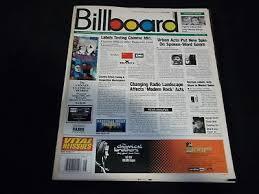 1997 April 5 Billboard Magazine Great Vintage Music Ads