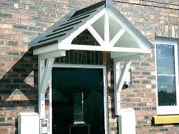door awning diy beautiful exterior door overhang designs door designs entry door door awning plans front