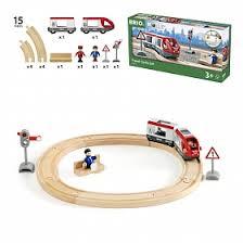<b>Железная дорога</b> со светофором (<b>15</b> элементов) <b>BRIO</b>