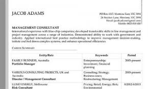 Resume Editing Services For Consultants Management Consulted