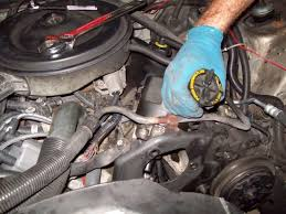 how to replace a power steering pump 10 steps pictures remove power steering pump