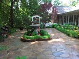Small Picture Patios and Walls Water Garden Designs by Tharpe