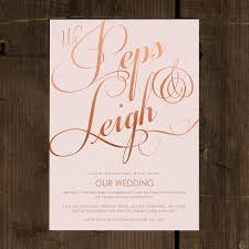 Classic Script Wedding Invitation Set By Feel Good Wedding