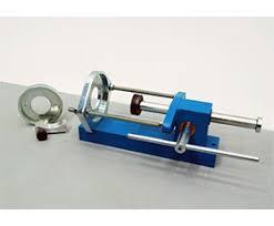 specimen extruder for hoek triaxial cells sample extruder