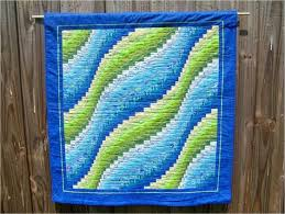 Bargello Wave Quilt – Sewing Projects | BurdaStyle.com &  Adamdwight.com