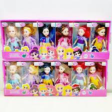 Búp Bê Barbie 049 Belle Cinderella Rapunzel Ariel Thời Trang tốt giá rẻ