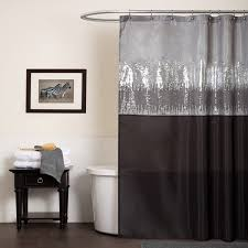 brown and black shower curtain. lush decor night sky black / grey shower curtain brown and