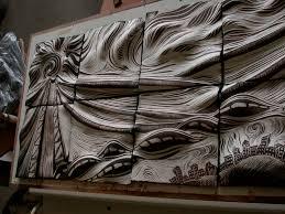 Decorative Relief Tiles ceramic tile decorative tile wall art Natalie Blake Art Lessons 44