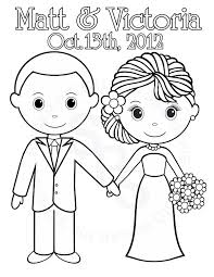 Childrens Colouring Pages Weddingl L