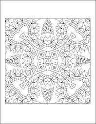 Free Printable Coloring Pages Geometric Designs Geometrical Coloring