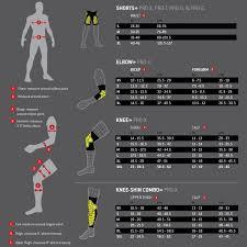 G Form Size Chart Jan Van Der Hoorn Schaatssport