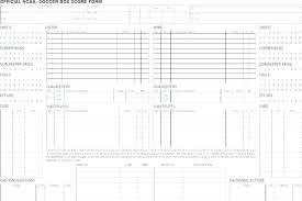 Football Stat Sheet Template Excel Inspirational Hockey