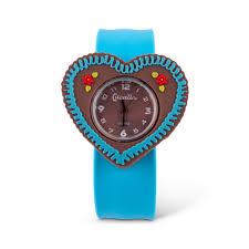 Kinder Armbanduhr Lebkuchenherz Türkis
