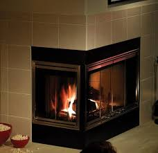 interesting fireplace corner wood burning fireplace doors best with regard to glass decor 19 on gas a