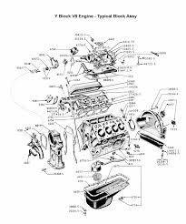 flathead parts drawings engines complete block assembly