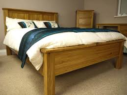 Warmth in King Size Wood Bed Frame — Home Decor Ideas