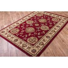 well woven timeless red area rug 10 11 x 15