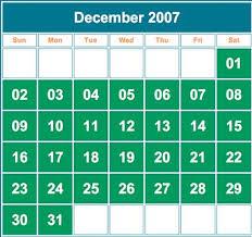 Sundays Only Calendar December 2012 5 Saturdays 5 Sundays And 5 Mondays Hoax