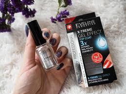 Eveline X Treme Gel Effect Top Coat Recenze Blogerkycz